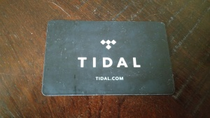 tidal card